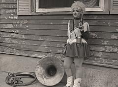Girl and her Tuba