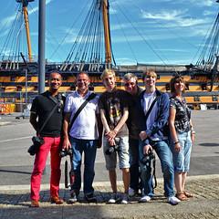 Group shot! (Jainbow) Tags: victory historic portsmouth naval base hms dockyard jainbow