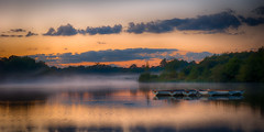 280/366 A Misty Sunset at Hatfield Forest (Mark Seton) Tags: mist lake photo mr places photograph essex dailyphoto pictureaday hatfieldforest digitalcameraclub dailyphotograph uttlesford project365280 project365061012