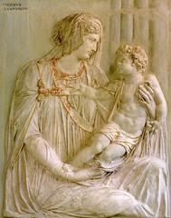Jacopo Sansovino - Madonna con il Bambino [1540-50] (petrus.agricola) Tags: del child with madonna relief museo jacopo vittorio veneto rilievo colorata cartapesta sansovino cenedese