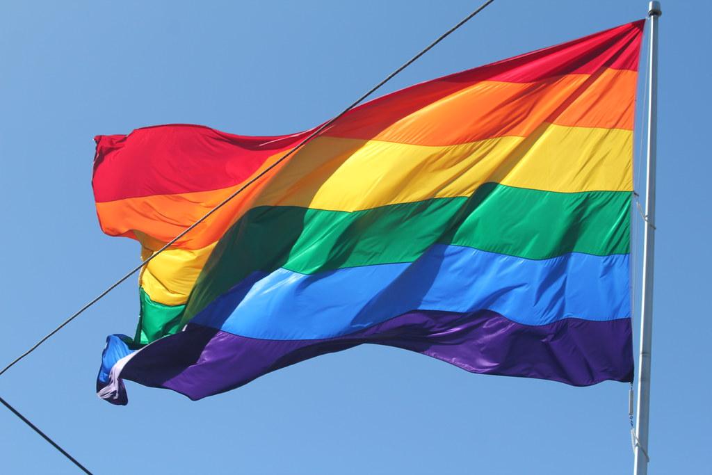 Pride flag by quinn.anya, on Flickr