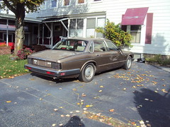 1987-'88 Jaguar XJ6 (JMcNamara603) Tags: old junk chevy 350 tired beat jaguar scrap