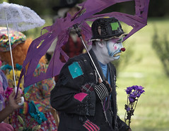 showmens rest. august 2016 (timp37) Tags: zantiny showmens rest clown illinois august 2016 summer forest park woodlawn cemetary