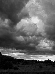 Summer Storm (Boneil Photography) Tags: brendanoneil canon powershot g16 bw blackandwhite clouds storm haverhill ma boneilphotography silhouette