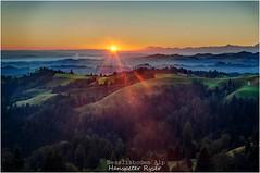 Ahorn (Hanspeter Ryser) Tags: eriswil ahorn bern schweiz huttwil sonnenaufgang morgen farbeb color morgenstimmung switzerland sommer alpen berneralpen bergen luzern landscap landschaft lutherntal luzernerhinterland