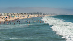 Venice Beach, Los Angeles, California (RussellK2013) Tags: venicebeach california beach sea ocean surf nikon nikkor ngc landscape seascape sun d750 wideangle scene scenery scape scenicsnotjustlandscapes losangeles la water 70200mmf28gedvrii 70200mm
