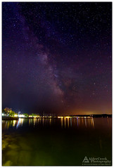 The Milky Way Over Door County (Cory_ACP) Tags: wisconsin doorcounty ephraim lakemichigan greenbay night milkyway stars water corychristensen aldercreekphotography
