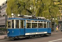 Tram Museum Zürich - Mai 2005 (hrs51) Tags: streetcar strassenbahn tram zürich tmz museumslinie trammuseum zurich switzerland museum historical schweiz suisse svizzera public transport