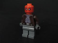 The Red Hood (MrKjito) Tags: lego minifig jason todd red hood custom water slide decals robin batman dc comics super hero villain joker ras al ghul