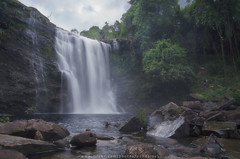 Waterfall in cloudy day (Pond Pisut) Tags: waterfall water nature naturelover natural naturescape landscape landscapelover thailand thai d7000 longexposure green cloudy