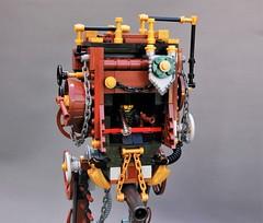 Steamwars - Steampunk AT-ST (3) (adde51) Tags: adde51 lego moc steampunk steamwars atst starwars star wars st walker