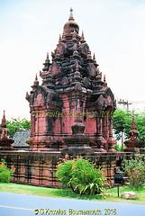 The Stupa of Phra Maha That, Surat Thani,  in the Ancient City, Muang Boran, Samut Prakan Province, Thailand. (samurai2565) Tags: samutprakan samutprakanprovince thailand ancientsiam ancientcity muangboran sukhumvitroad bangkok lekviriyaphant bangpu