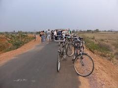 KhajurahoCycling083 (tjabeljan) Tags: india khajuraho cycling platteland village dorp