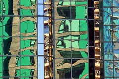 City of Glass (Bad Kicker) Tags: building architecture reflections patterns shapes glass wall