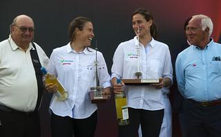 Támara y Berta, Premio Nacional de Vela como Mejor Equipo Femenino