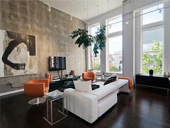 Dark Hardwood Floors in Living Room (spacitylife) Tags: dark hardwood floors living room