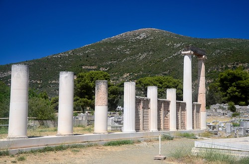 Sanctuary of Epidavros: Dormitory