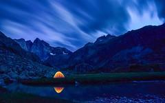 Pyrenes (tombrissiaud) Tags: nature camp montain montagnes 1116 paysage landscape photographie toiles nuit night pyrenes d5300 france tokinalens tokina nikon
