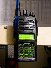 cs750 (Michael_Sexton) Tags: connectsystemscs750 dmr digitalmobileradio amateurradio hamradio narrowband tdma uhf radio antenna rubberduck ht handheld transceiver