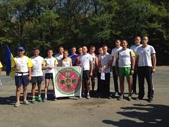 Прикордонникі Могилів-Подільського зустрічають #бігзарадигармонії #peacerun