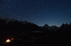 Gasherbrum IV (7925m) (Daniyal Naeem (Xpitude)) Tags: gasherbrumiv 7925m goroii giv g4 concordia k2trek night campsite nightphotography daniyal daniyalnaeem xpitude skardu karakarom k2 gasherbrum concorida