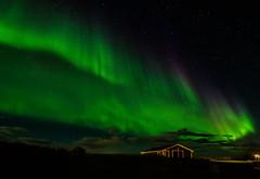 Iceland 2016 - Nothern Lights @ Hella [EXPLORED] (cesbai1) Tags: iceland islande islandia islanda is hella aurore borale aurora borealis northern light summer 206 roadtrip suurland landscape paysage nuit night nacht