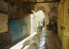 Morning Glory (David Mor) Tags: morning light urban ancient alley jerusalem documentary relaxed muslimquarter hookah oldnew modernization carlzeiss nuances nikond90 zf2 traditionaltea cityatwork distagont2815