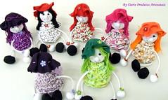 Boneca Lilica (Darte Produtos Artesanais) Tags: pano fuxico boneca tecido