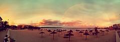 Rainbow over S'Illot (noelboss) Tags: sunset summer rainbow mallorca