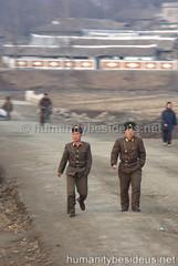 Korean People's Army soldiers (humanitybesideus.net) Tags: humanity northkorea dprk