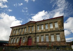 Former Abbotsford Primary School,Glasgow,Scotland (Dragos Cosmin- Getty Images Artist) Tags: uk blue school sky david john scotland day hugh glasgow sunny knox tradition sir primary oldest abbotsford livingstone choirs orpheus devonstreet roberton