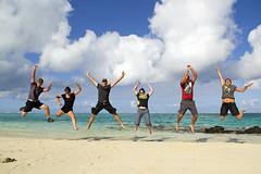 Pointe d'Esny - August, 2012 (RodaLarga) Tags: jump jumping nikon maurice mauritius d7000