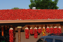 Handy place to turn green chile into red. (desert11sailor) Tags: chile newmexico hatch greenchile hatchnm chileroast