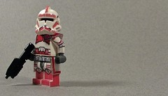 "CT-6523-98 ""Faktor"" (Kyle Peckham) Tags: trooper star lego shock wars custom clone sith episode 3revenge"