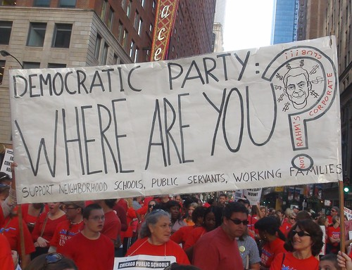 'Democratic Party, Where Are You?', From FlickrPhotos