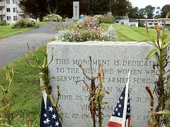 Journey To Old Orchard Beach, Maine! - Memorial Park - Monument is Dedicated to those who served in the Armed Forces - Korean and Vietnam War (Polterguy30) Tags: monument memorial maine monuments memorialpark oldorchardbeach koreanwar vietnamwar memorialstone memorialstones