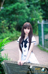 School girl (Hatphoenix) Tags: cute girl beautiful beauty angel asian model asia teen lovely kute hatphoenix