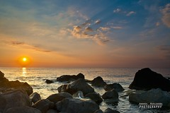 September seascape (Andrea Rapisarda) Tags: morning travel summer sky italy sun seascape clouds sunrise landscape nikon rocks italia estate alba location september sicily settembre sicilia d800 scogli acitrezza