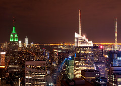 From theTop of the Rock (IVG54) Tags: newyork night empirestatebuilding nikon70200f28vr nikond300s
