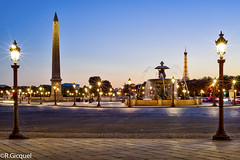 Place de la Concorde (Paris) (renan4) Tags: street travel paris france monument night 50mm lights nikon europe cityscape place famous toureiffel concorde bluehour capitale nikkor nuit ville placedelaconcorde d800 oblisque fontainedesmers rgicquel renan4 renangicquel