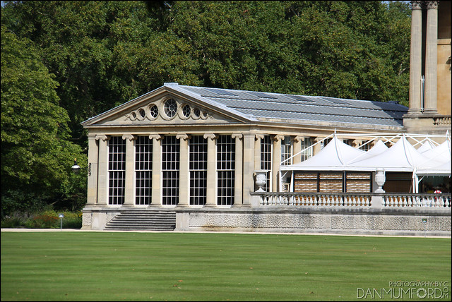 Buckingham Palace Pool House
