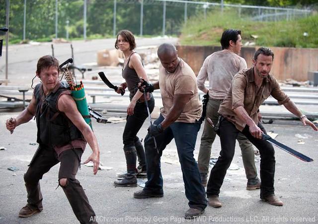 全新「陰屍路」The Walking Dead 第三季劇照&預告曝光