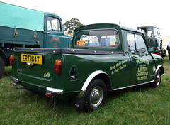 1979 Austin Morris Mini 1000 Pickup (Spottedlaurel) Tags: suffolk pickup mini 1000 boxford austinmorris ert164t riddelsdellbros