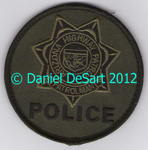 Arizona DPS Highway Patrol SWAT (Current Badge Patch)