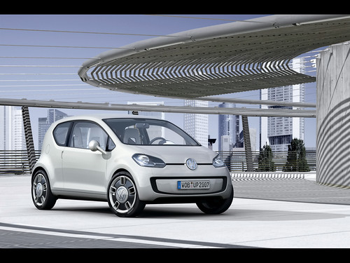 The Volkswagen up! concept car