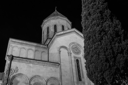 Tbilisi Sioni Cathedral at Night
