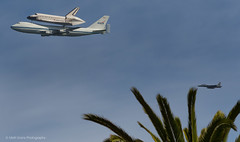 Shuttle over California (Matt Granz Photography) Tags: sanfrancisco california aviation spaceshuttle piggyback 747