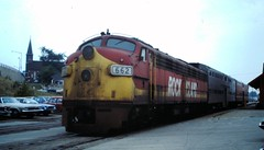 Chicago, Rock Island & Pacific 662 on a Blue Island local (CPShips) Tags: chicago 1977 emd chicagorockislandpacific