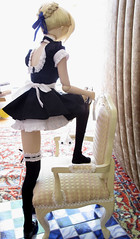 (annaneko) Tags: stockings doll saber moe bjd dd volks maid thighhighs typemoon fatestaynight dollfiedream  fatehollowataraxia zettairyouiki