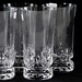 156. (6) Kosta Crystal Glasses